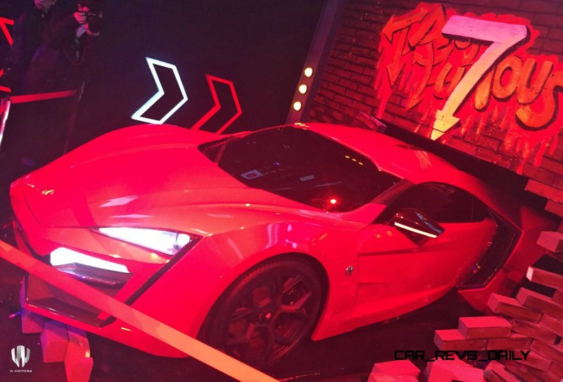 2015 W Motors Lykan HyperSport FF7 Shanghai Launch Party 13