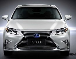 2016 Lexus ES Makes Shanghai Debut With Fresh Details + RX200t F Sport