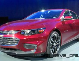 Wow! 2016 Chevrolet Malibu Is Sexy Redesign With LWB Back-Seat Comfort + Hybrid Option