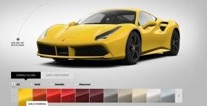 2016 Ferrari 488GTB Colors 51
