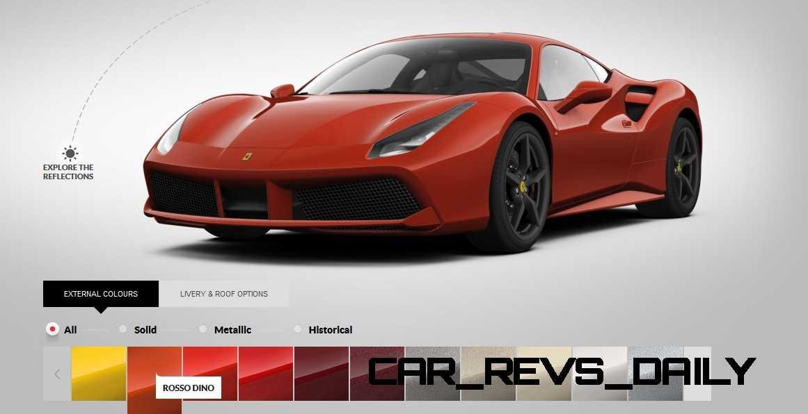 2016 Ferrari 488GTB Colors 52