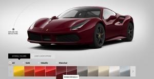 2016 Ferrari 488GTB Colors 55