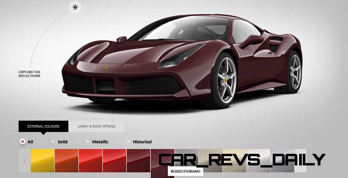 2016 Ferrari 488GTB Colors 56