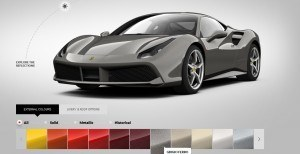 2016 Ferrari 488GTB Colors 57