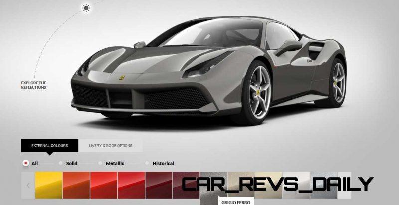 2016 Ferrari 488GTB Colors  57