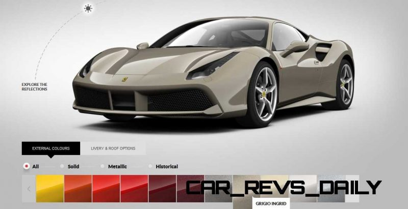 2016 Ferrari 488GTB Colors  58