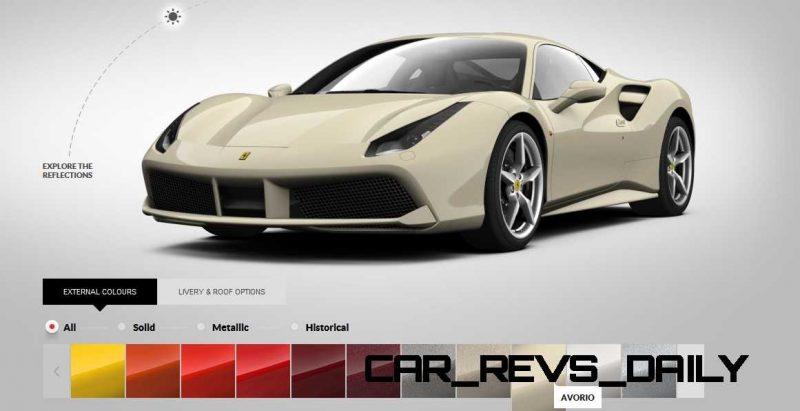 2016 Ferrari 488GTB Colors  59