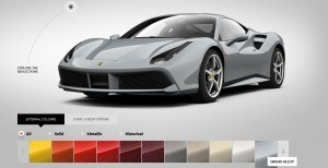 2016 Ferrari 488GTB Colors 61