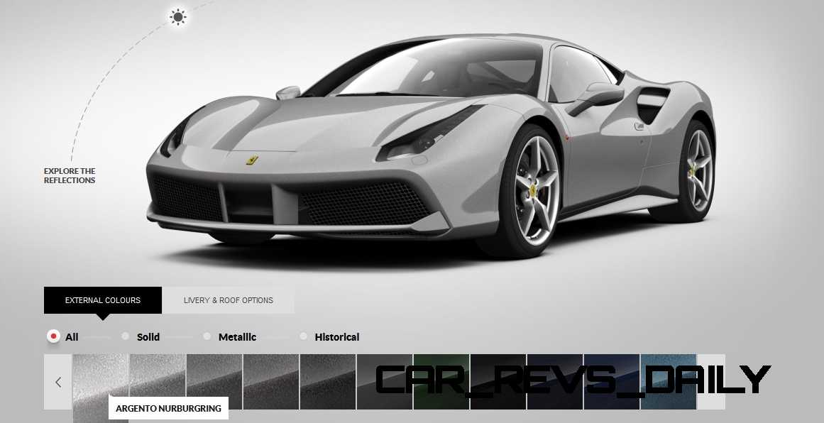2016 Ferrari 488GTB Colors 62
