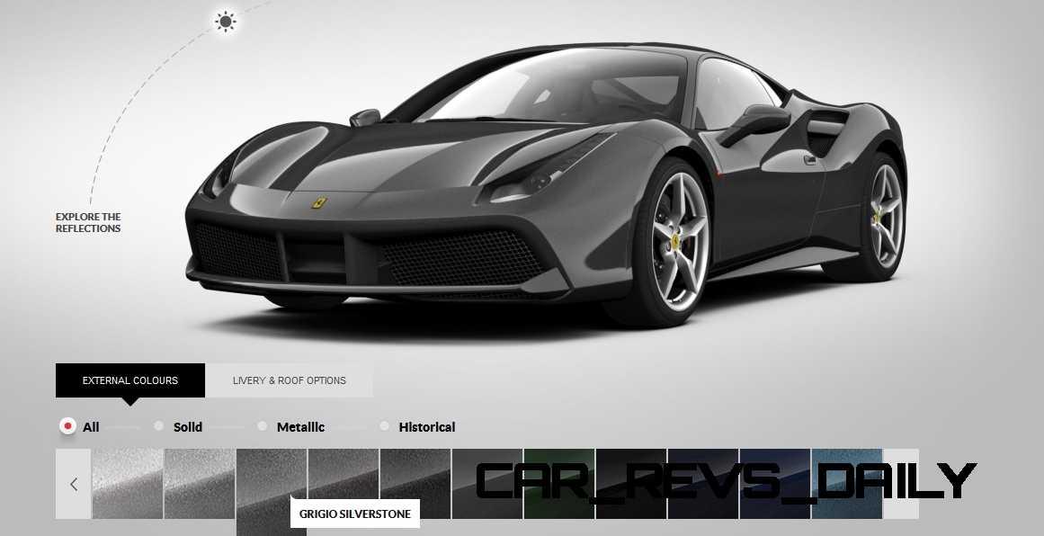 2016 Ferrari 488GTB Colors 64