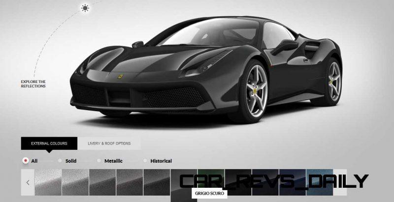 2016 Ferrari 488GTB Colors  67