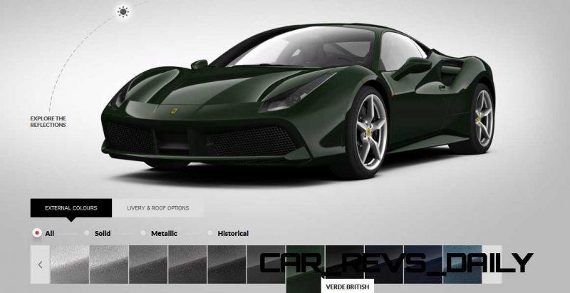 2016 Ferrari 488GTB Colors  68