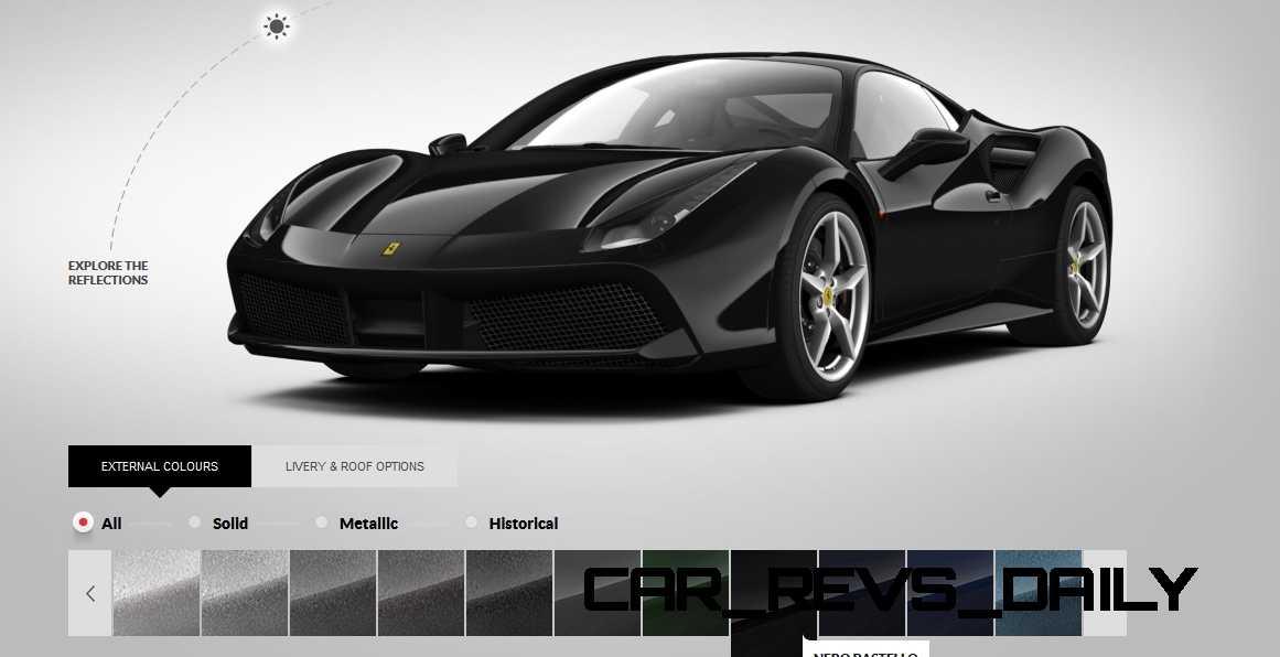 2016 Ferrari 488GTB Colors 69