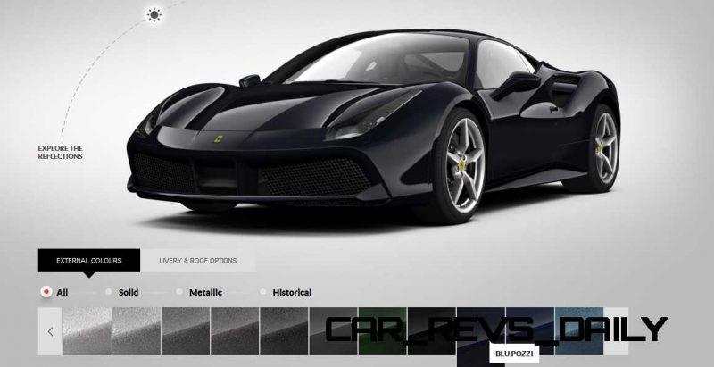 2016 Ferrari 488GTB Colors  70
