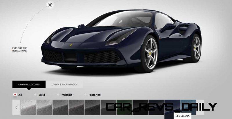 2016 Ferrari 488GTB Colors  71