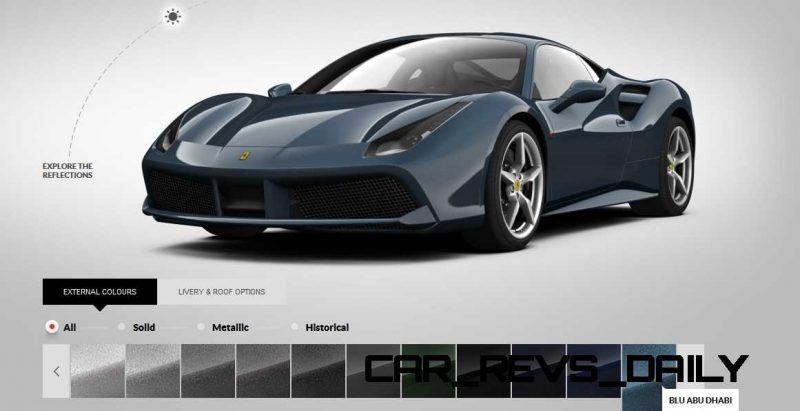 2016 Ferrari 488GTB Colors  72