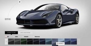 2016 Ferrari 488GTB Colors 73