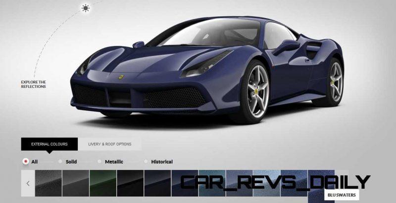 2016 Ferrari 488GTB Colors  76