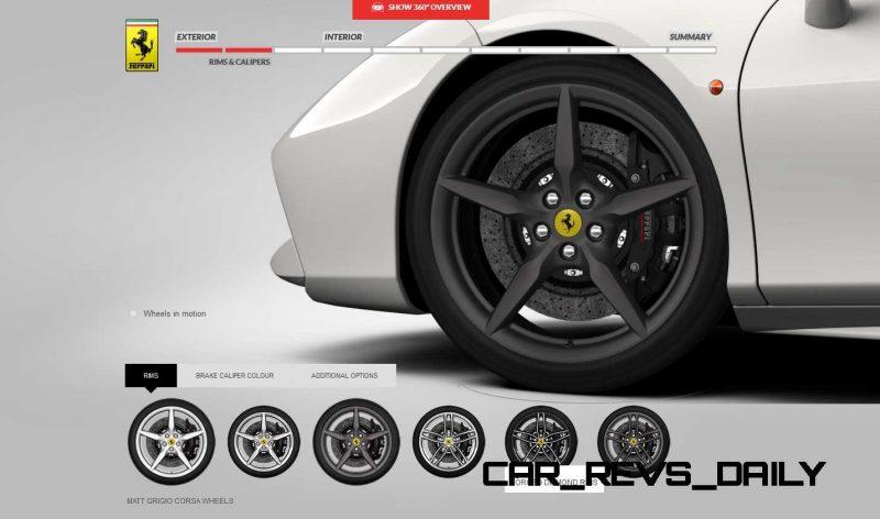 2016 Ferrari 488GTB Colors  9