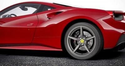 2016 Ferrari 488GTB Rosso Mugello 14