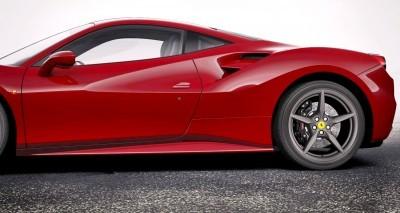 2016 Ferrari 488GTB Rosso Mugello 15