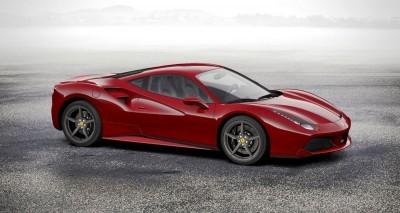 2016 Ferrari 488GTB Rosso Mugello 23