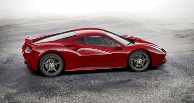 2016 Ferrari 488GTB Rosso Mugello 25