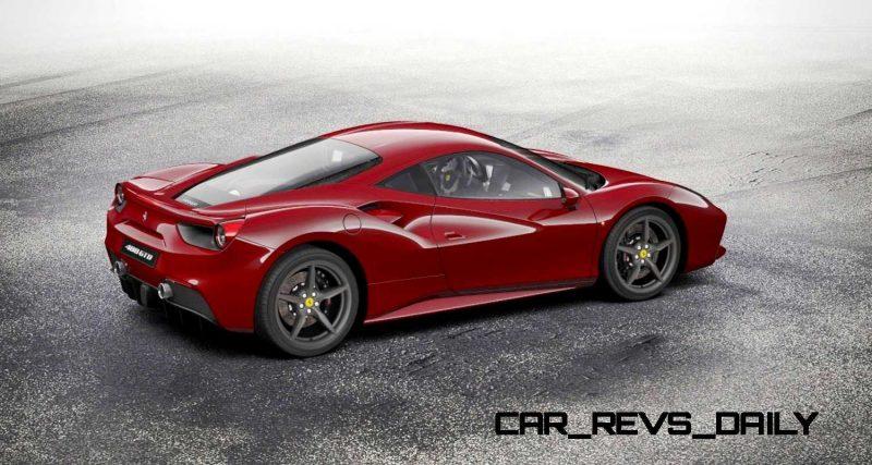 2016 Ferrari 488GTB Rosso Mugello 26