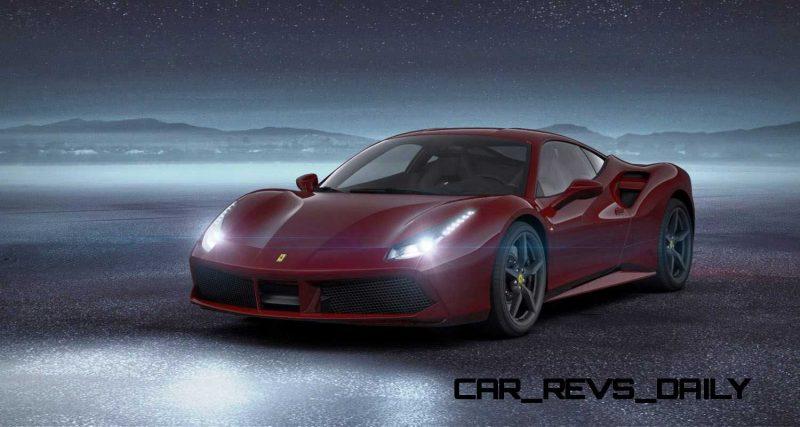 2016 Ferrari 488GTB Rosso Mugello 37