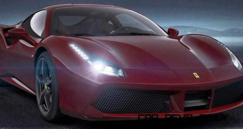 2016 Ferrari 488GTB Rosso Mugello 39