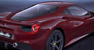 2016 Ferrari 488GTB Rosso Mugello 45