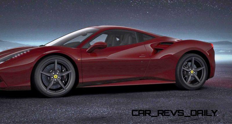 2016 Ferrari 488GTB Rosso Mugello 52