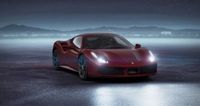 2016 Ferrari 488GTB Rosso Mugello 57