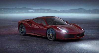 2016 Ferrari 488GTB Rosso Mugello 58