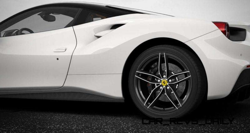 2016 Ferrari 488GTB White 15