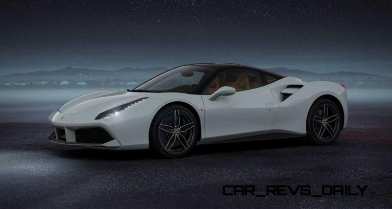 2016 Ferrari 488GTB White 37