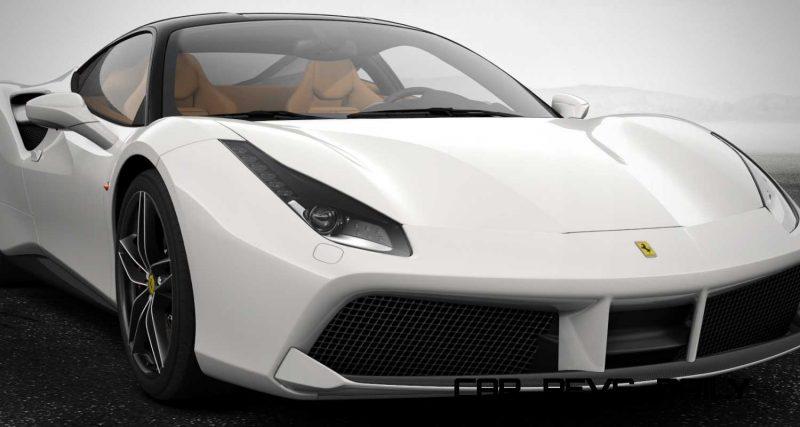 2016 Ferrari 488GTB White 4