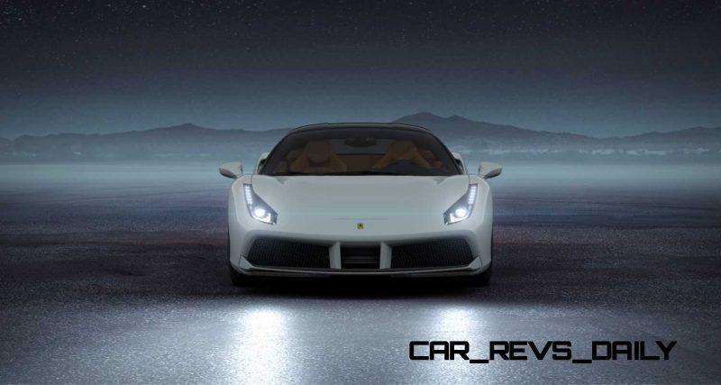 2016 Ferrari 488GTB White 40