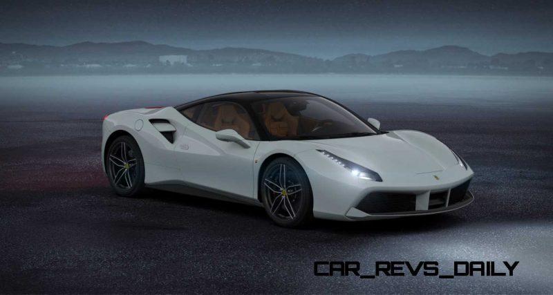 2016 Ferrari 488GTB White 42