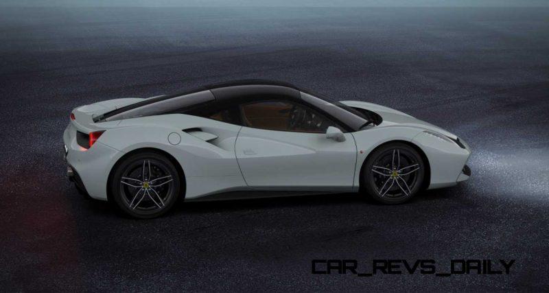 2016 Ferrari 488GTB White 45