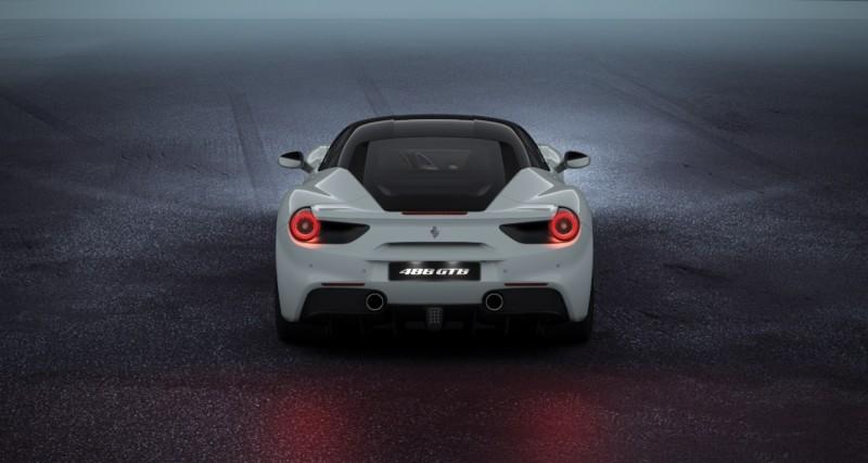 2016 Ferrari 488GTB White 49