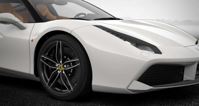2016 Ferrari 488GTB White 5