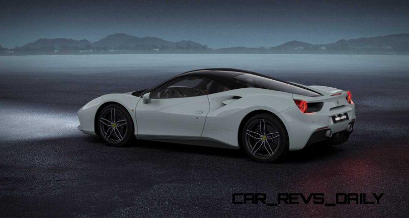 2016 Ferrari 488GTB White 52