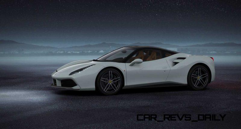 2016 Ferrari 488GTB White 55