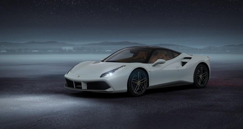 2016 Ferrari 488GTB White 56