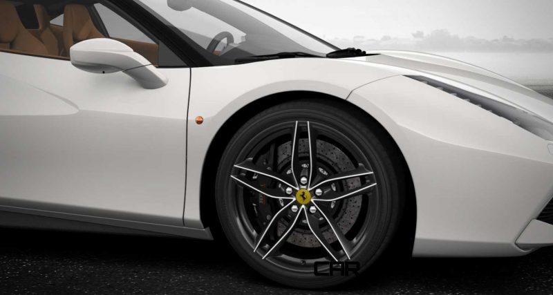 2016 Ferrari 488GTB White 6