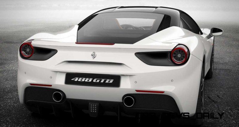 2016 Ferrari 488GTB White 62