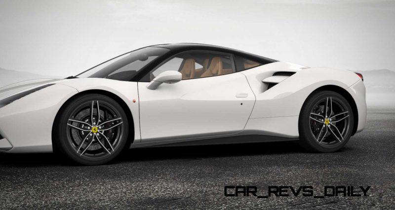 2016 Ferrari 488GTB White 65