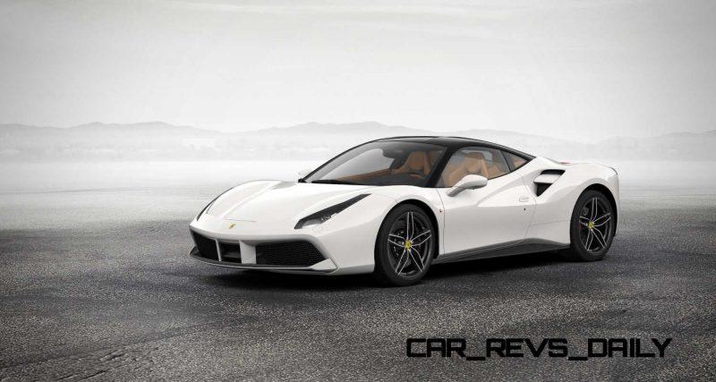 2016 Ferrari 488GTB White 67