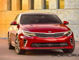 2016 Kia Optima Brings New, Wider Style With Dramatically Better Handling and Refinement